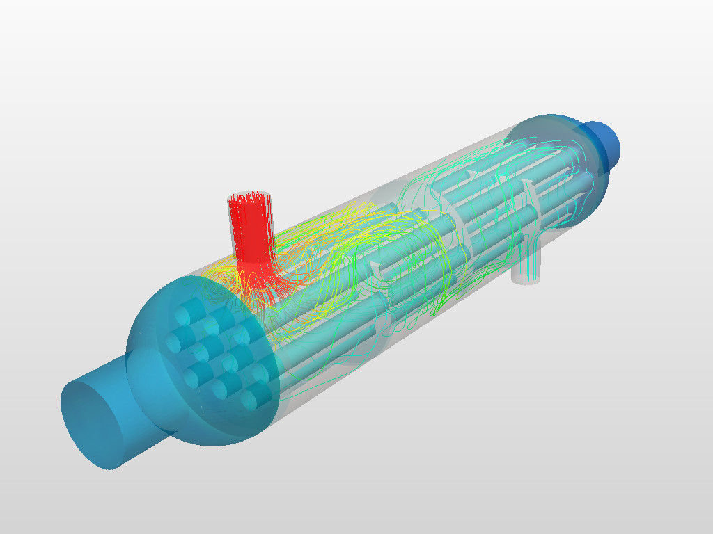 Heat exchanger - CHT simulation | SimScale