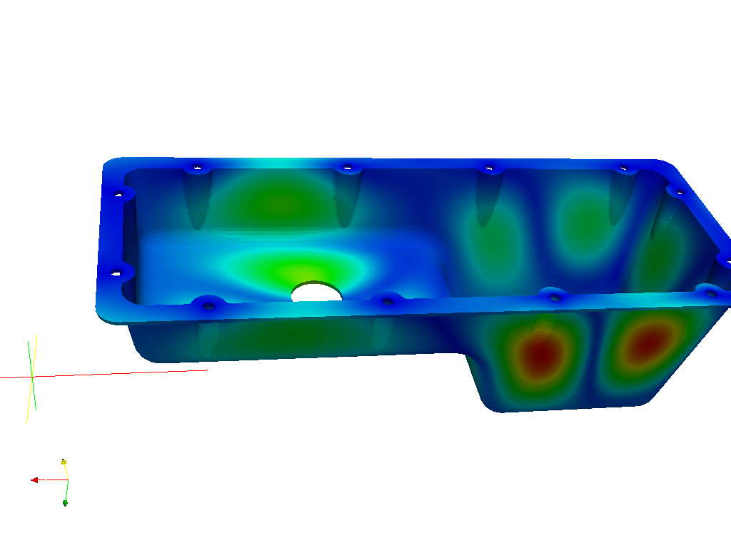 Modal Analysis for an Oil Sump | SimScale