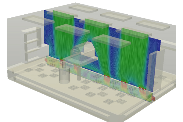 What is laminar flow simscale documentation ventilation system inside a cleanroom ccuart Images