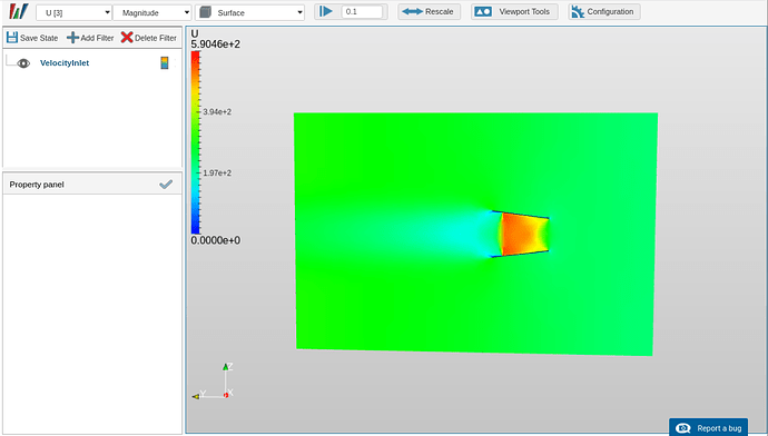 compressible flow simulation results transonic sonic flow