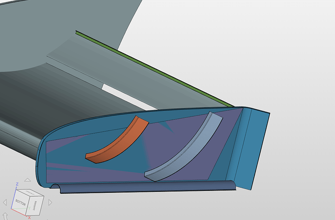 Overlapping Surfaces