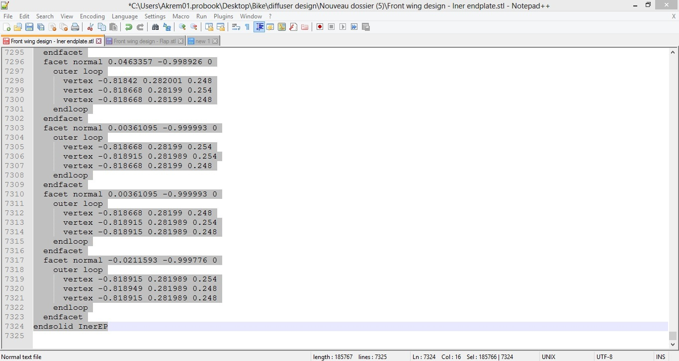 Step by step tutorial session 4 design process formula student 2 using text editor alternative nvjuhfo Image collections