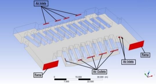 Ventilation System Design For Carbon Monoxide Extraction