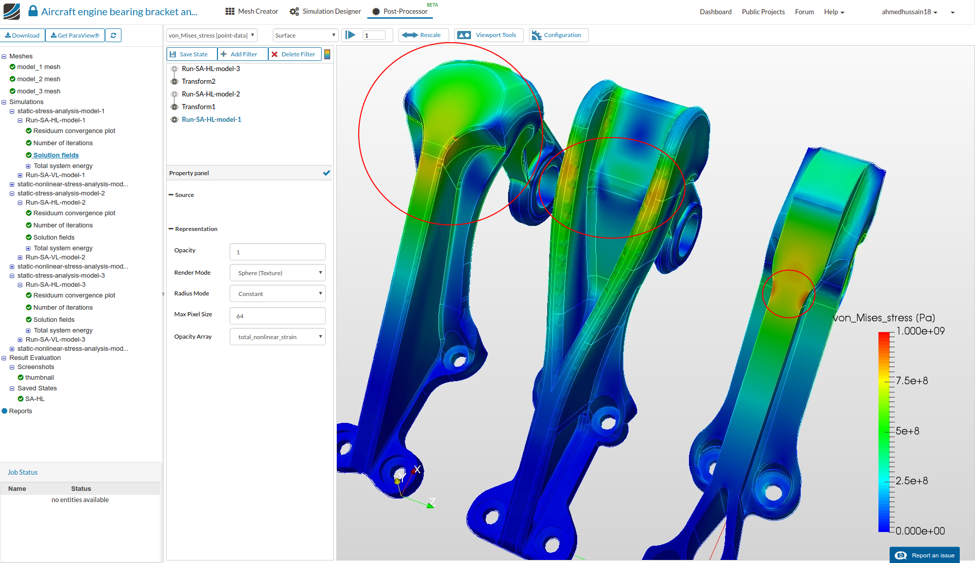 How to Create a FEA Report - Solid Mechanics / FEA - SimScale CAE With Fea Report Template