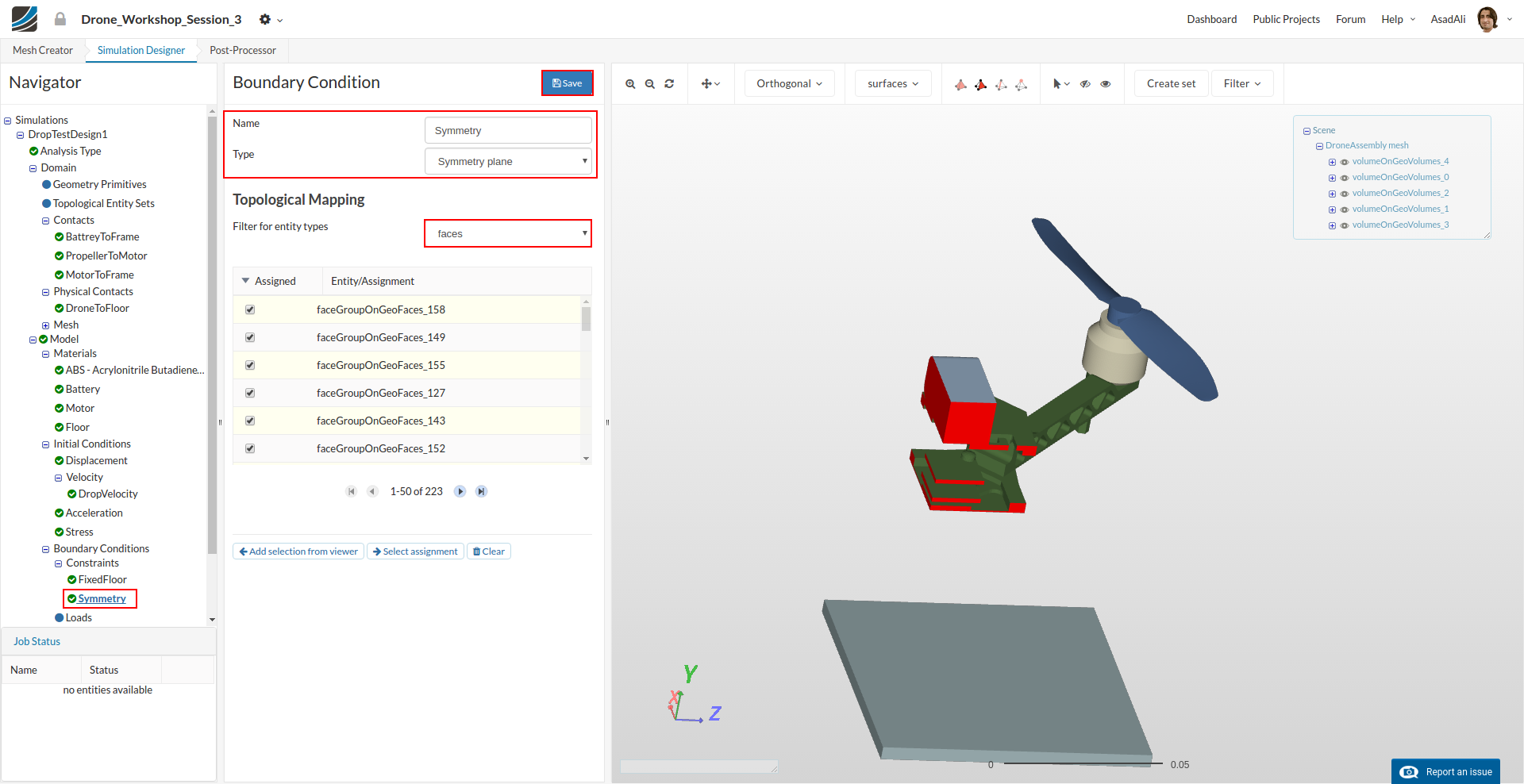 Step-by-Step Tutorial DroneS3 - Drone Design Workshop
