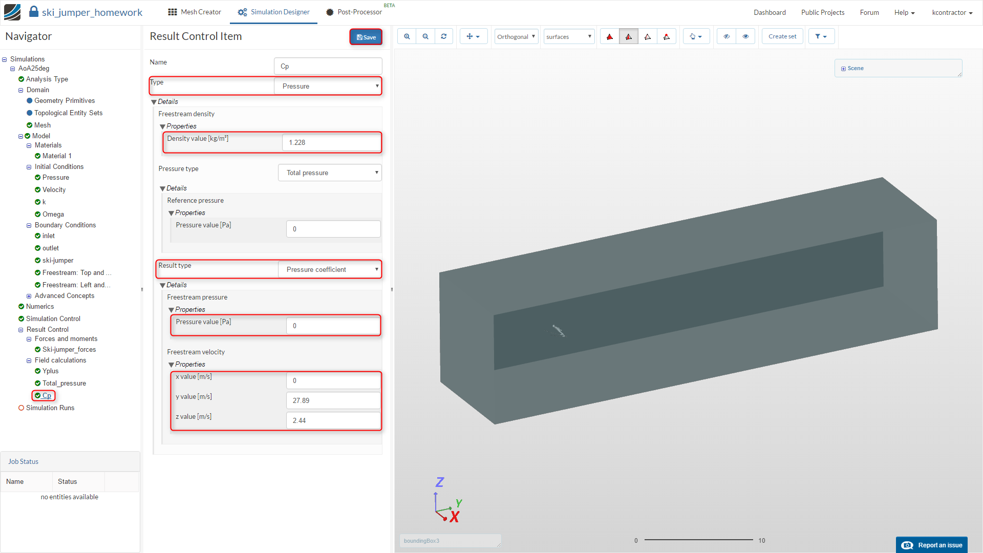 Step-by-Step Tutorial: of Session 1 - Sports Aerodynamics - SimScale