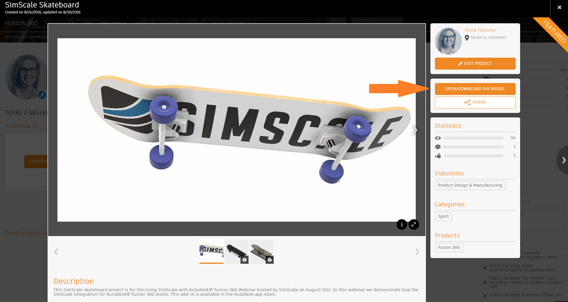 Step-by-Step Tutorial: Dynamic Drop Test of a Skateboard with