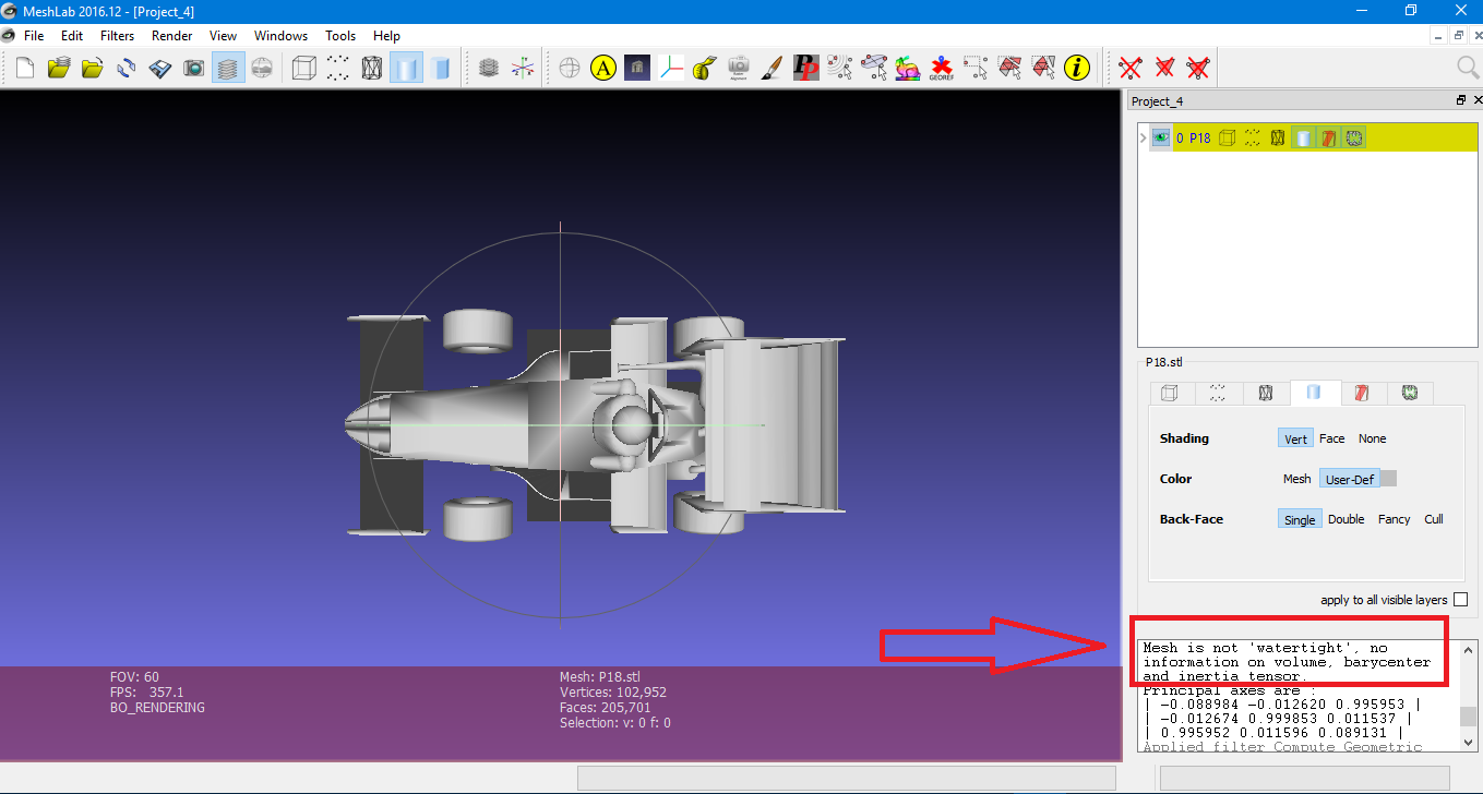 Issues with meshing an imported STL geometry - CAD & Meshing