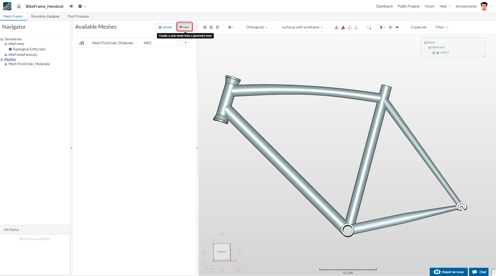 FEA Master Class: Session 1 (Bike Frame Analysis) - FEA Master Class ...