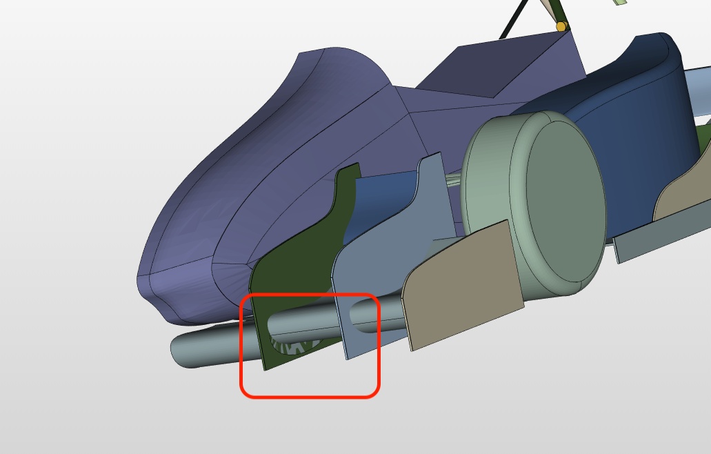 Overlapping Surfaces SimScale